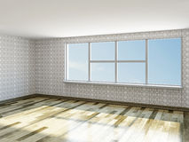 The big empty room Stock Photography