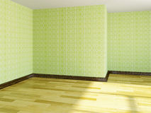 The empty room Royalty Free Stock Photo
