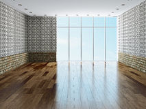 The big empty room Stock Image