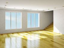 The big empty room Stock Images
