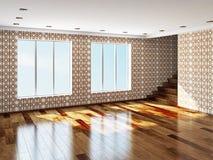 The big empty room Stock Image