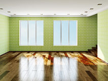 The big empty room Royalty Free Stock Photo