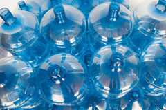 Big empty water bottles Stock Photography