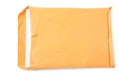 Big envelope and document Stock Photo