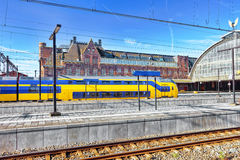 The big European Railways Stations. Stock Images