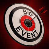 Big Event Shows Upcoming Festival Royalty Free Stock Photography
