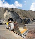 Big excavator in mine. Royalty Free Stock Image