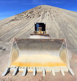 Big excavator in mine. Stock Photos