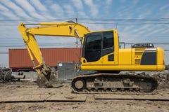 Big excavator Royalty Free Stock Photo