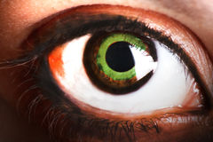 Big eye Royalty Free Stock Images