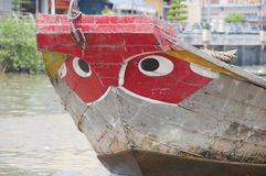 Big Eye Boat Stock Image