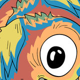 Big eye Stock Image