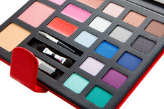Big  eye shadow kit Stock Photography