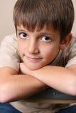 Big Eyed Boy Stock Photography