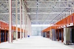 Big factory shop Stock Photo