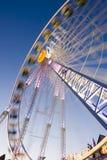 big fair fun wheel Στοκ εικόνα με δικαίωμα ελεύθερης χρήσης