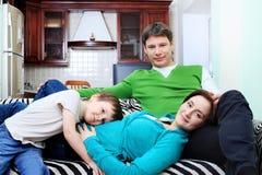 Big Family Royalty Free Stock Photography