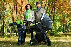 Big family Royalty Free Stock Photo