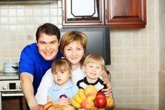 big family Στοκ Φωτογραφία