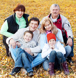 Big family Stock Images