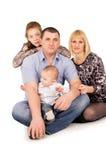 Big family posing Stock Image