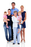Big family Royalty Free Stock Photos