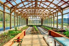 Big farm greenhouse Royalty Free Stock Photos