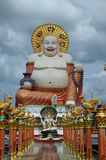 Big fat laughing buddha Royalty Free Stock Photography