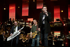 Big Fat Snake. Danish rockband Big Fat Snake, performing at DR's Christmas Show 2009 Royalty Free Stock Photography