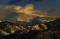 Big Fatra. Beautyful winter in Slovakian mountains Stock Image