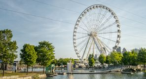 Free Big Ferries Wheel In Montreal Royalty Free Stock Image - 128177526