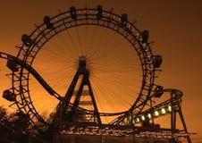 Big ferries wheel in Vienna Stock Photos