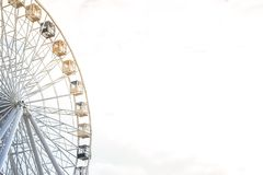 Free Big Ferris Wheel Against The Sky Stock Images - 126624994