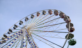 Big ferris wheel in attraction park Stock Photography