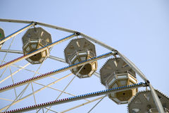Big ferris wheel in attraction park Royalty Free Stock Photo