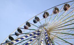 Big ferris wheel in attraction park Royalty Free Stock Image