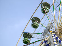 Big ferris wheel in attraction park Royalty Free Stock Images