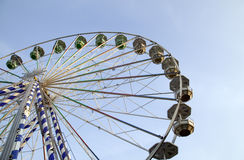 Big ferris wheel in attraction park Royalty Free Stock Photography