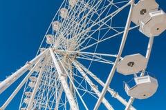 Big ferris wheel on blue sky Royalty Free Stock Photo