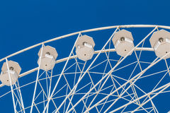 Big ferris wheel on blue sky Stock Image