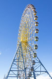 Big Ferris Wheel, Blue Sky Stock Images