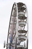 Big ferris wheel isolated Stock Photography