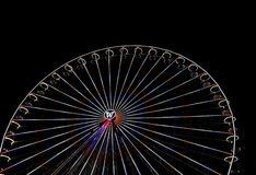 Big ferris wheel with night time, in Essen, Germany Stock Image