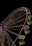 Big ferris wheel with night time, in Essen, Germany Royalty Free Stock Image