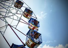 Big ferris wheel number 13 !. Big ferris wheel number 13 unlock for some royalty free stock photo