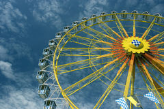 Big (Ferris) wheel at Oktoberfest in Munich Stock Photos