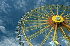 Big (Ferris) wheel at Oktoberfest in Munich Stock Photos