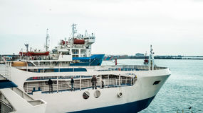 Big ferry for passengers Royalty Free Stock Photography