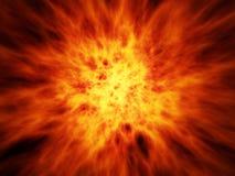 Big Fire. Fire explode power heat sun danger Stock Images