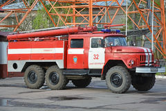 Big fire-engine truck Royalty Free Stock Photography